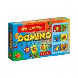 Domino Obrazkowe Owoce Alexander 0207