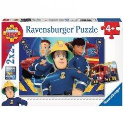 Puzzle Strażak Sam niesie pomoc 2x24 el. Ravensburger 090426