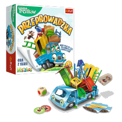 Gra Zręcznościowa Przeprowadzka z Rodziną Treflików Trefl 02071