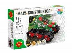 Zestaw Konstrukcyjny Mały Konstruktor Tanky 219 el. Alexander 2310