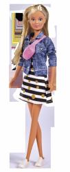 Lalka Steffi w Miejskiej Stylizacji w Sneakersach Simba 5733459