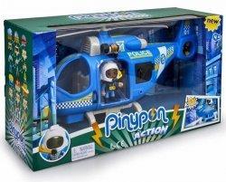Pinypon Action Zestaw Helikopter Policyjny z Figurką i Akcesoriami Światło Epee