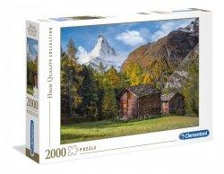 Puzzle Fascynacja Matterhorn 2000 el. Clementoni 32561