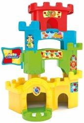 Wieża z kuleczkami Zabawny zamek Clementoni 17226