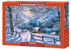 Puzzle Śnieżny Poranek 1500 el. Castorland 15190