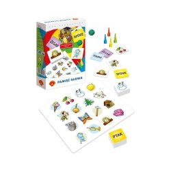 Gra Edukacyjna Sowa Mądra Głowa Pamięć Słowa Mini Alexander 0592