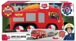 Strażak Sam Jupiter Super Tech Wóz Strażacki Simba 3096001