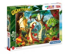Puzzle Gigantozaur 104 el. Clementoni 27192