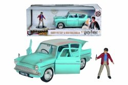 Samochód Ford Anglia 1959 Harry Potter + Figurka Dickie 37185002