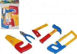 Zestaw narzędzi Nr 11 5 elementów Polesie 53763