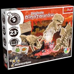 Zestaw Naukowy Science 4 You Zagłada Dinozaurów Trefl 61101