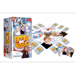 Gra Karciana Boom Boom Frozen 2 Kraina Lodu 2 Trefl 01912
