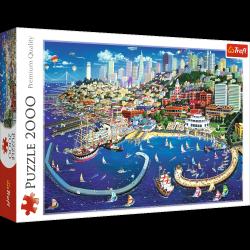 Puzzle Zatoka San Francisco 2000 el. Trefl 27107