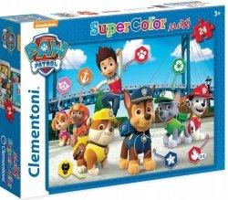 Puzzle Podłogowe Maxi Psi Patrol 24 el. Clementoni 24049