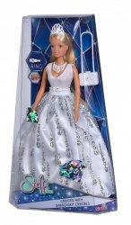 Lalka Steffi w Sukni Ślubnej z Kryształkami Swarovskiego Simba