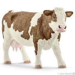 Krowa rasy Simentalskiej Figurka Schleich 13801