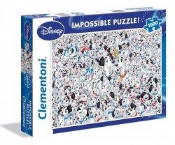 Puzzle 101 Dalmatyńczyków 1000 el. Clementoni 39358