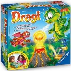Gra Smoki Dragi Dragon Ravensburger