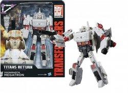 Transformers Titans Return Doomshot i Megatron Hasbro C0275
