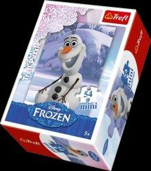 Puzzle Frozen Krain Lodu mini 54 el. Trefl 54141