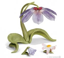 Kwiatowy parasol Elfów Figurka Schleich 42038