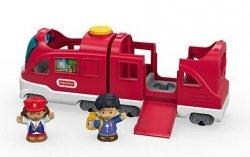 Interaktywny Pociąg Małego Odkrywcy Little People Fisher Price FKW96