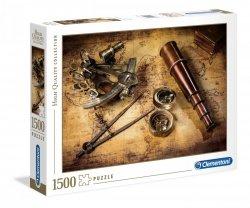 Puzzle Kurs na skarb 1500 el. Clementoni 31808
