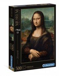 Puzzle Mona Lisa Leonardo da Vinci 500 el. Clementoni 30363