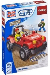 Klocki Jeep Wrangler 123 el. Mega Bloks 97803