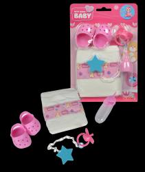 New Born Baby Zestaw Podróżny Akcesoria dla Lalek Simba 5560004