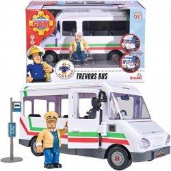 Strażak Sam Autobus Trevora z figurką Simba 9251073