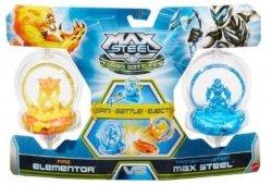 MAX STEEL Turbo Wojownicy 2 figurki Mattel Y9483