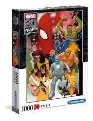 Puzzle Marvel 80 Rocznica 1000 el. Clementoni 39534