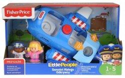 Interaktywny Samolot Małego Odkrywcy Little People Fisher Price FKX09