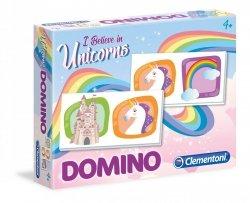 Gra towarzyska Domino Jednorożec Clementoni 18033