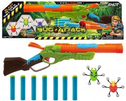 X-Shot Eliminator Wyrzutnia strzałek Zuru Bug Attack Formatex 4802