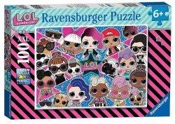 Puzzle LOL Surprise XXL 100 el. Ravensburger 128822