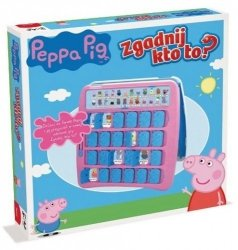 Gra Zgadnij Kto To Świnka Peppa Winning Moves 27618