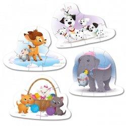 Moje Pierwsze Puzzle Zwierzęcy Przyjaciele Disneya 3/6/9/12 el. Clementoni 20826