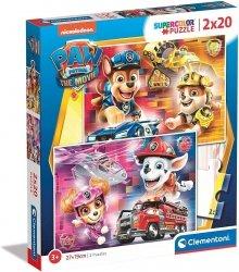 Puzzle Psi Patrol Paw Patrol 2x20 el. Clementoni 24786