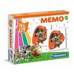 Gra karciana  Memo 44 Cats Clementoni 18056