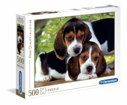 Puzzle Przytulone Pieski 500 el. Clementoni 30289