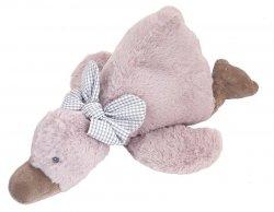 Pluszowa Kaczka Tiny z grzechotką 56 cm Beppe 13285