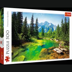 Puzzle Widok na Tatry 500 el. Trefl 37117