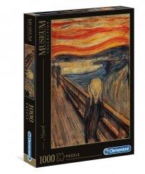 Puzzle Edvard Munch Krzyk 1000 el. Clementoni 39377