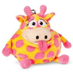 Pluszak Tummy Stuffers Neonowa Żyrafa 40 cm Kosz na Zabawki Formatex 84500