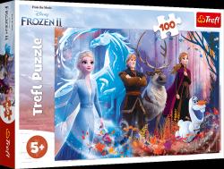 Puzzle Frozen Magia Krainy Lodu 100 el. Trefl 16366