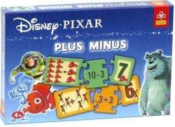 Gra edukacyjna Pixar Link Plus Minus Trefl 00416