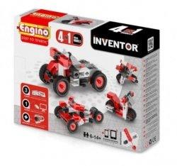 Klocki konstrukcyjne Engino Inventor 4w1 Motory Engino Formatex 0432
