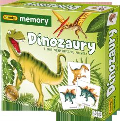 Gra Memory Dinozaury Adamigo 00741